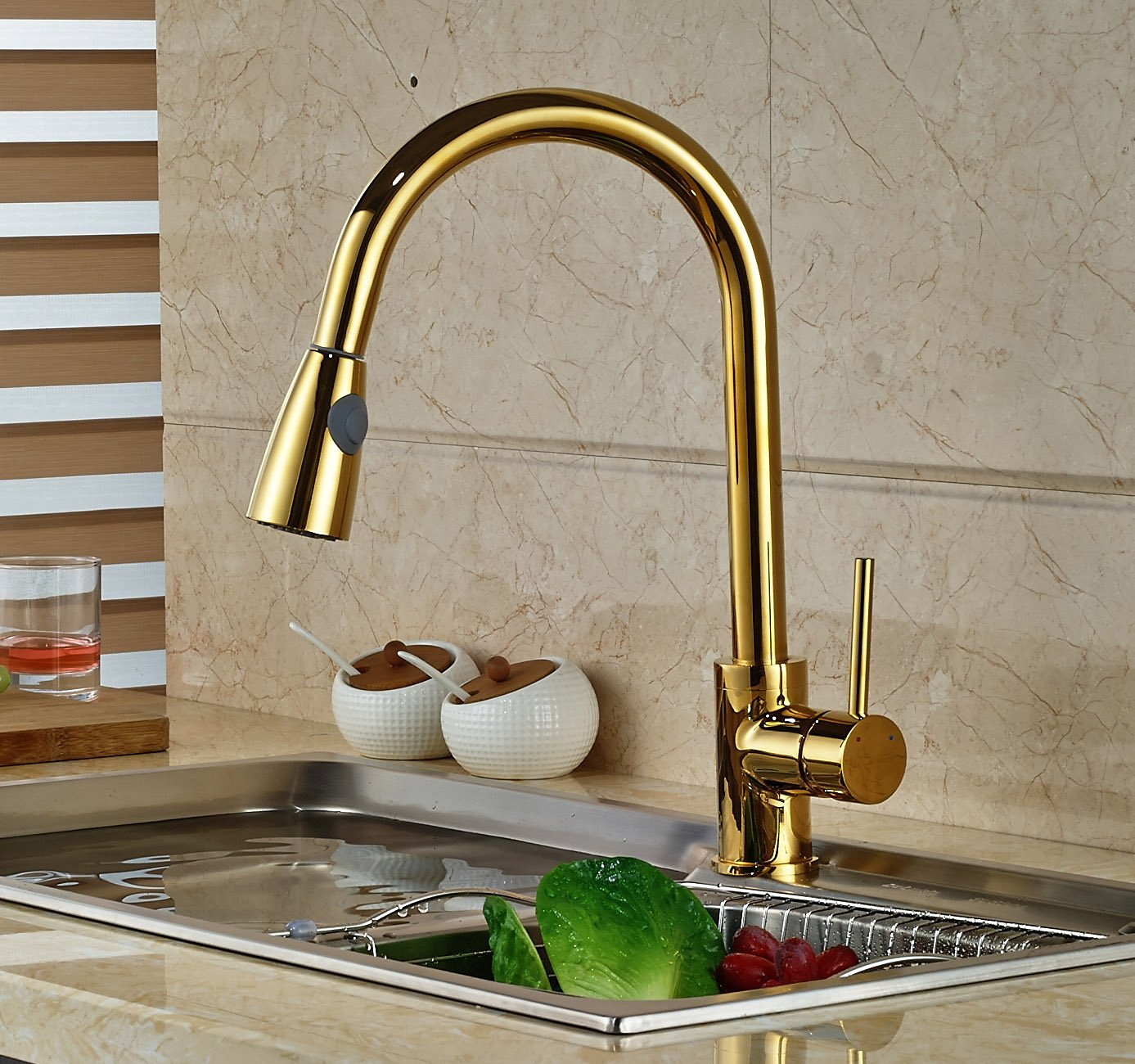gold kitchen faucet pictures for wall broward mounted manaus deck finish sink