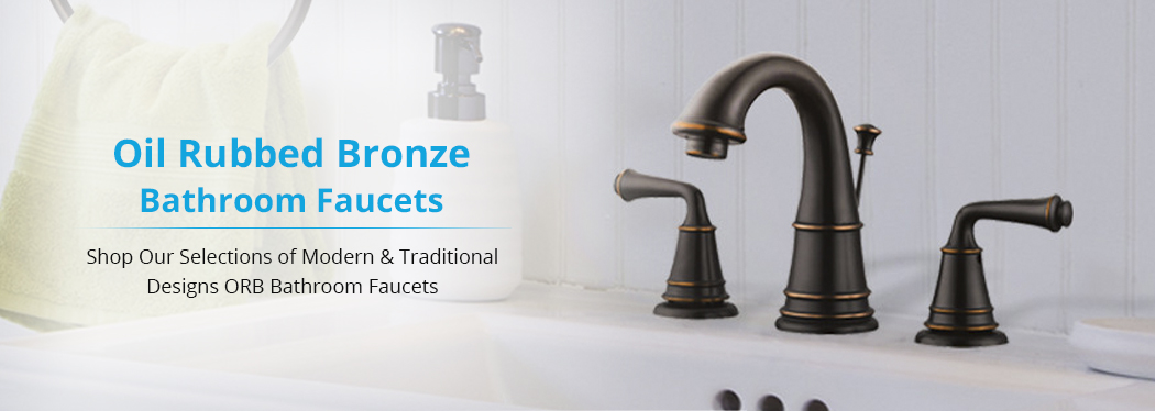 oil rubbed bronze bathroom faucets on