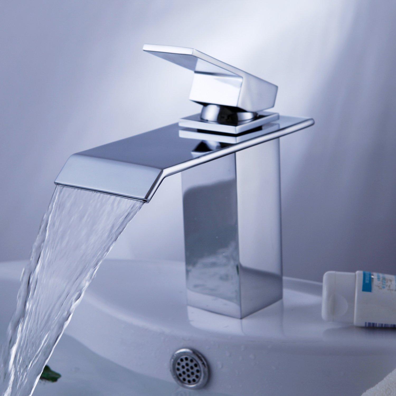 Rawson Chrome Finish Single Handle Bathroom Sink Faucet