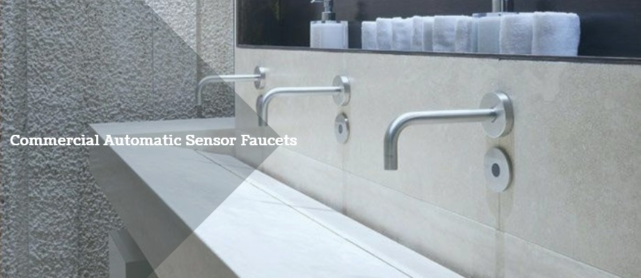 automatic motion sensor faucets for