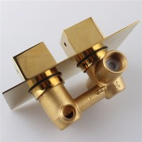 Fontana Gold Solid Brass Concealed Thermostatic Shower ...