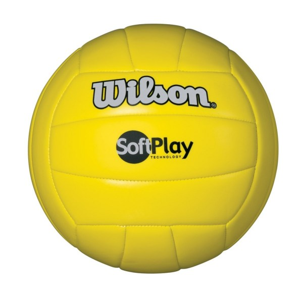 Wilson Soft Play Volleyball - Yellow Fontana Sports