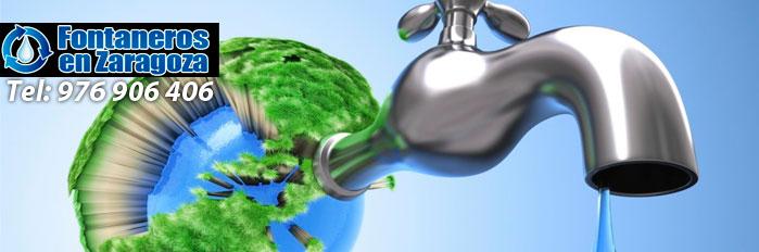 fontaneros zaragoza ahorrar agua