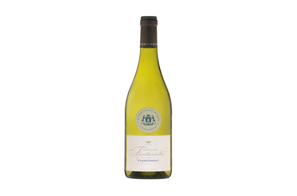 white wine corbieres chardonnay fontareche