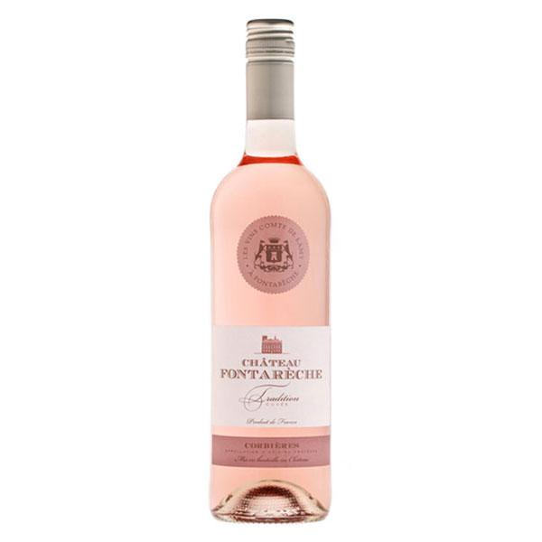 vin rosé AOP IGP corbieres fontareche