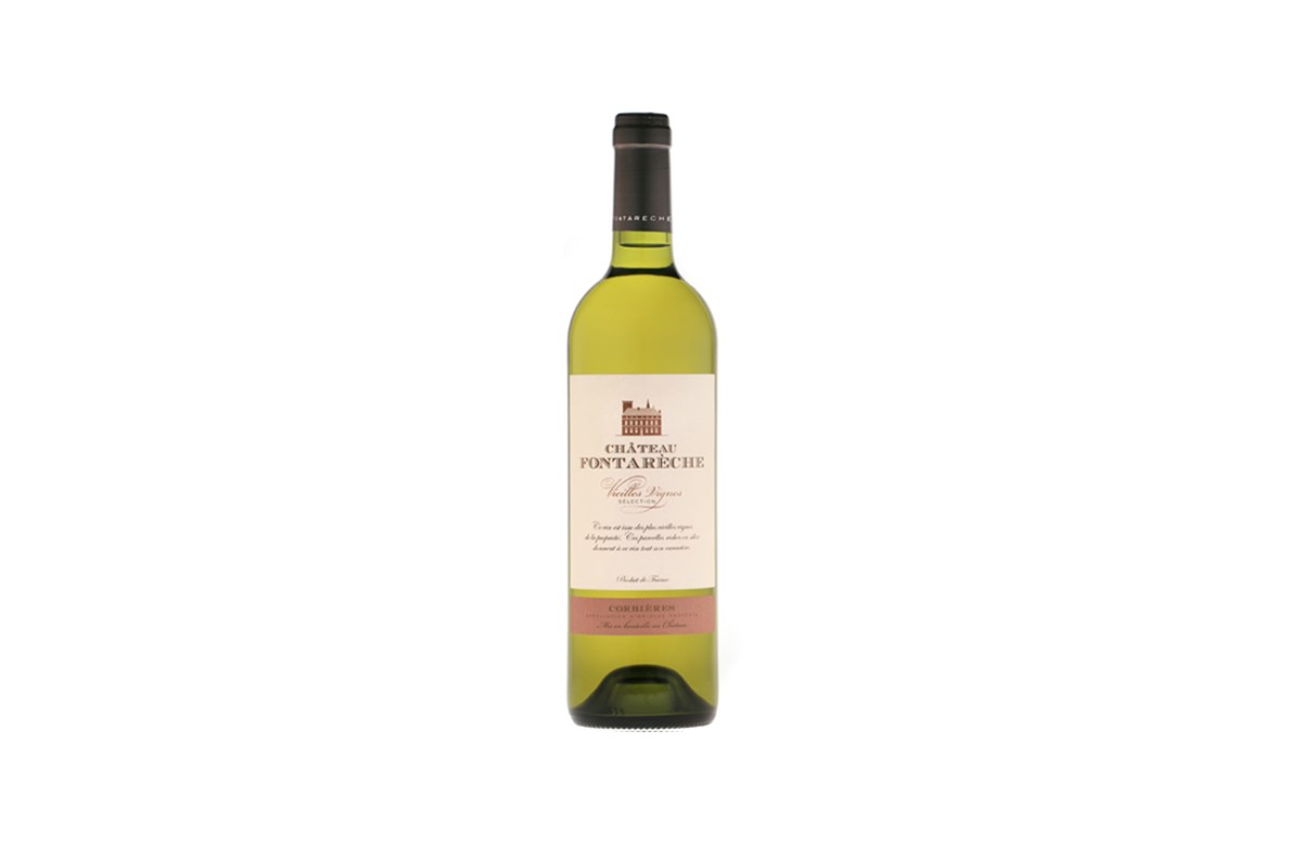 white wine corbieres vieilles vignes fontareche