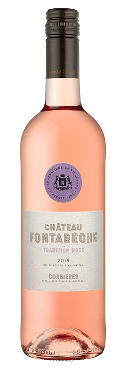 CHATEAU FONTARECHE TRADITION ROSE 2019 211-0210 PF