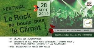 Le Rock se bouge pour le climat !