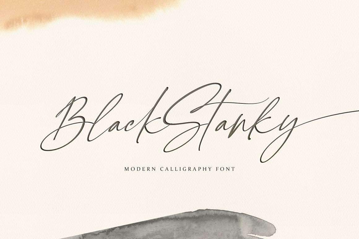 Black-Stanky-Calligraphy-Font-1