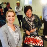 Bildet: Fra høyre: Leder NAV Asker Wenche Steen og Marina L. Pavlak (Fontenehuset Asker).