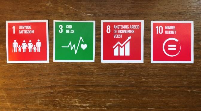 Fontenehuset Asker med bærekraftsmålene som rammeverk for Strategi- og handlingsplan 2019-21