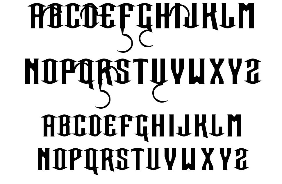 Our Sacred Rights font by Bolt Cutter Design-Industrial