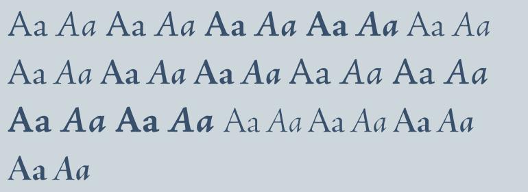 Download Adobe Jenson Complete Family Pack   Fonts.com