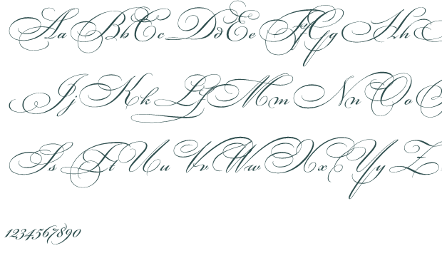 Best Wallpaper 2012: Fancy Handwriting Styles