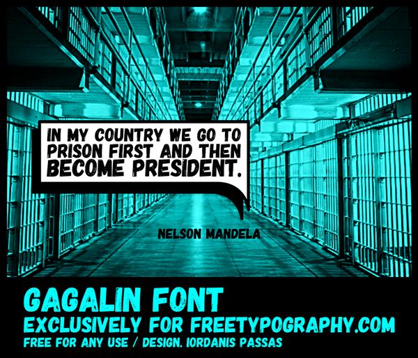 Gagalin Free Font