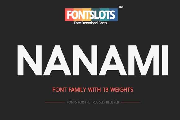 Nanami Font | Font Slots