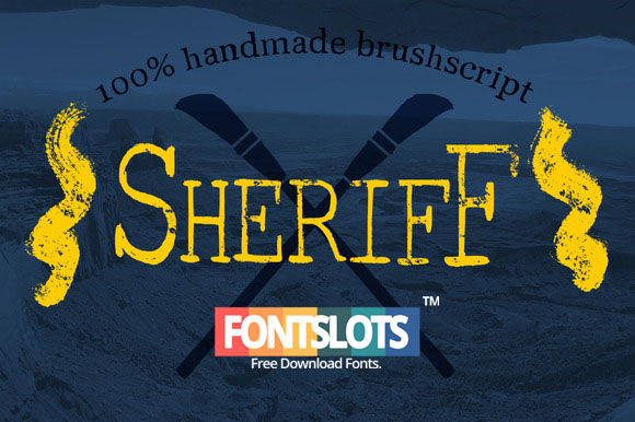 Brush Serif – Collin Font