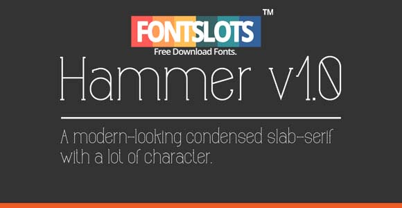 Hammer Font