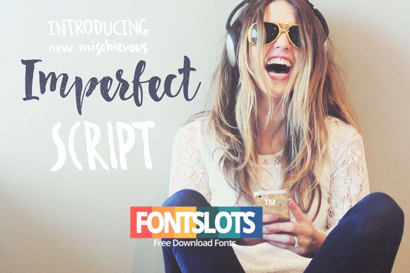 Imperfect Calligraphy Script Font