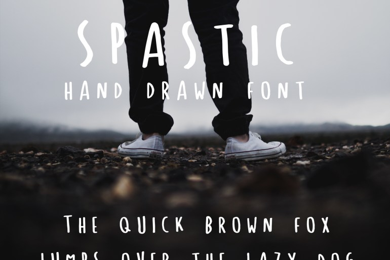 Spastic Font