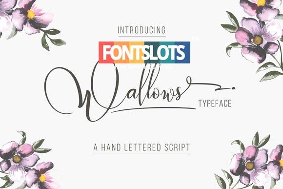 Wallows Typeface Font