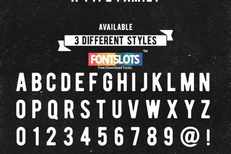 Bernier Typeface Font