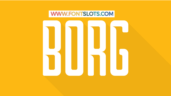 Borg Typeface Font