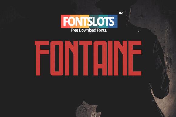 Fontaine Typeface Font | Font Slots
