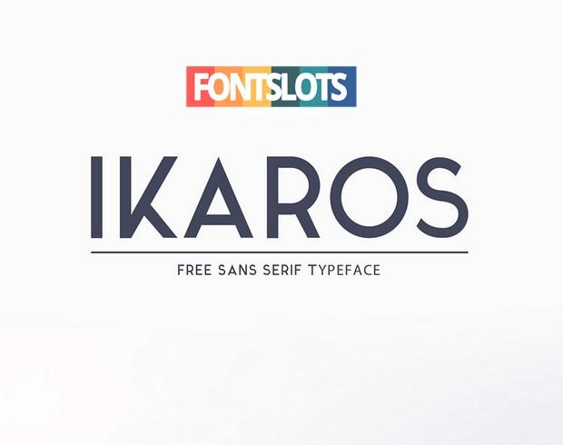 Ikaros Font