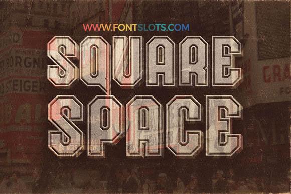 SquareSpace Font