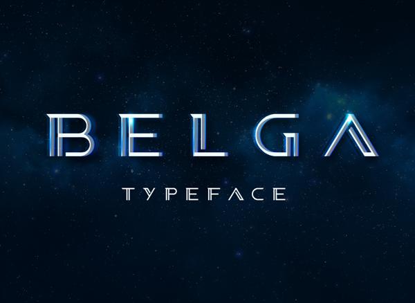 Belga Font