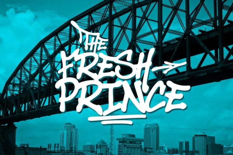 The Fresh Prince Font