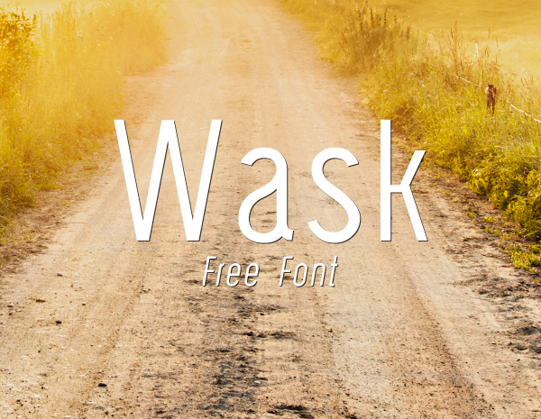 Wask New Font