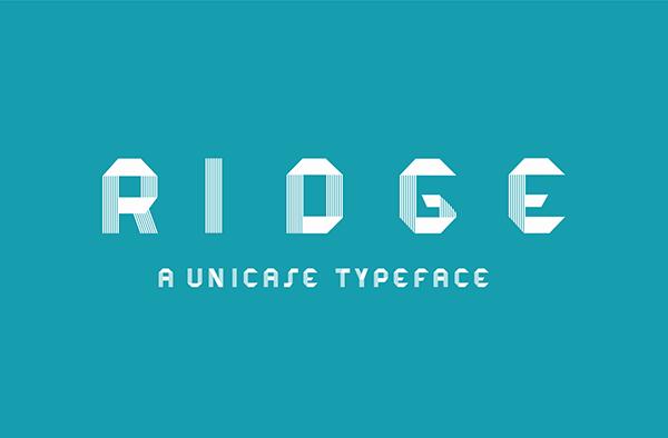 Ridge Font