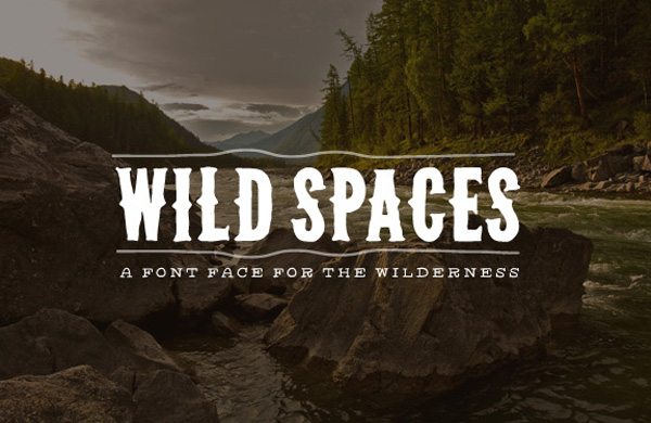 Wild Spaces Font