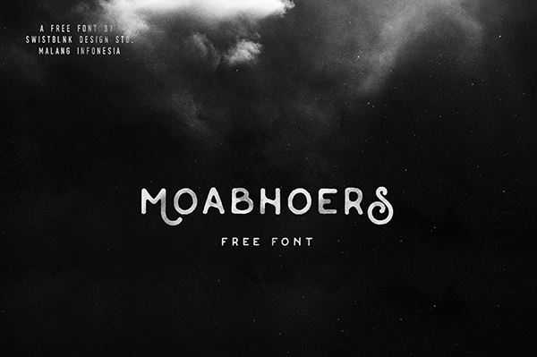 Moabhoers Typeface Font