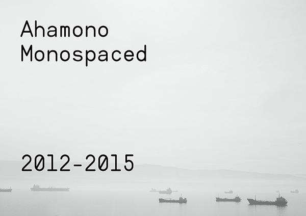 Ahamono Monospaced Typeface Font