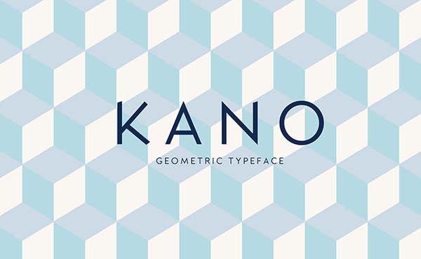 Kano Typeface Font