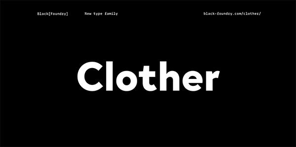 Clother Font