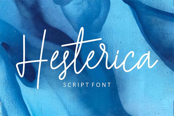 Hesterica Script Font