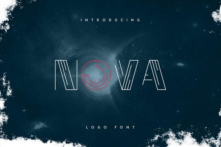 Nova logo font