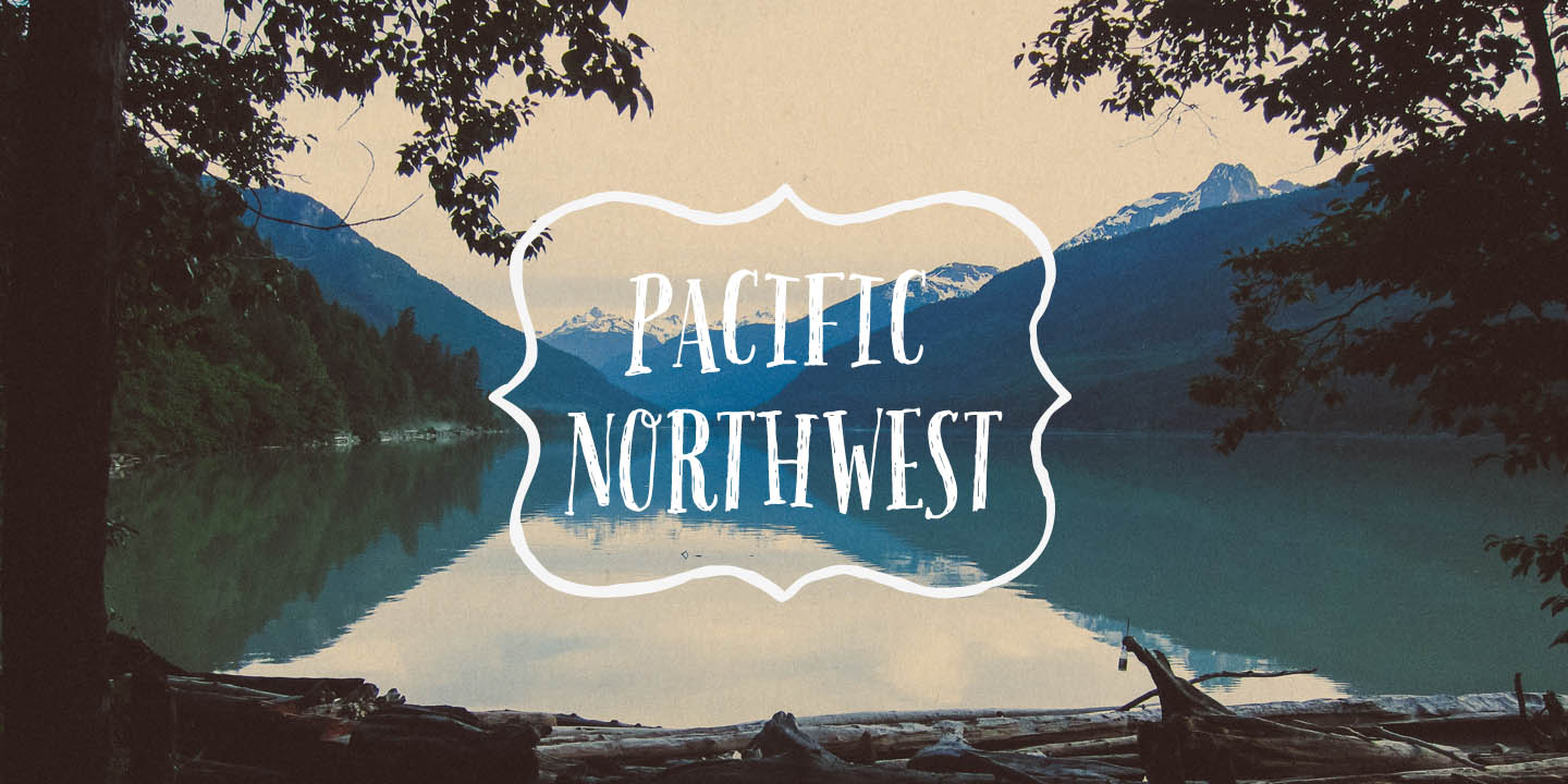 Quote Wallpaper Generator Fontspring Pacific Northwest Fonts By Cultivated Mind