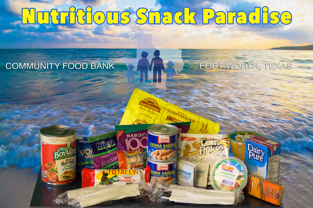 Nutritious Snack Paradise Boxes