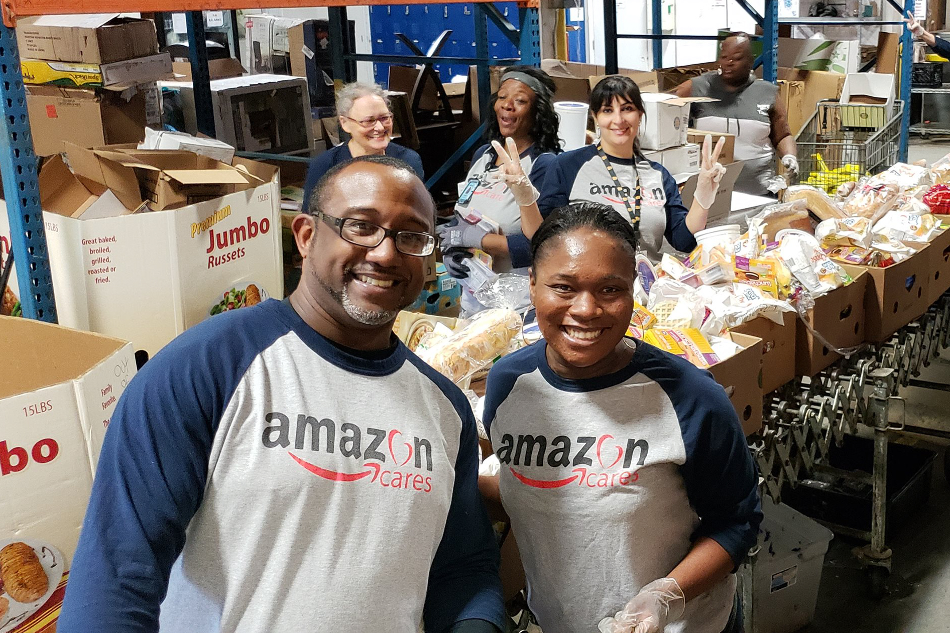 Thank You To Our Amazon Volunteers!
