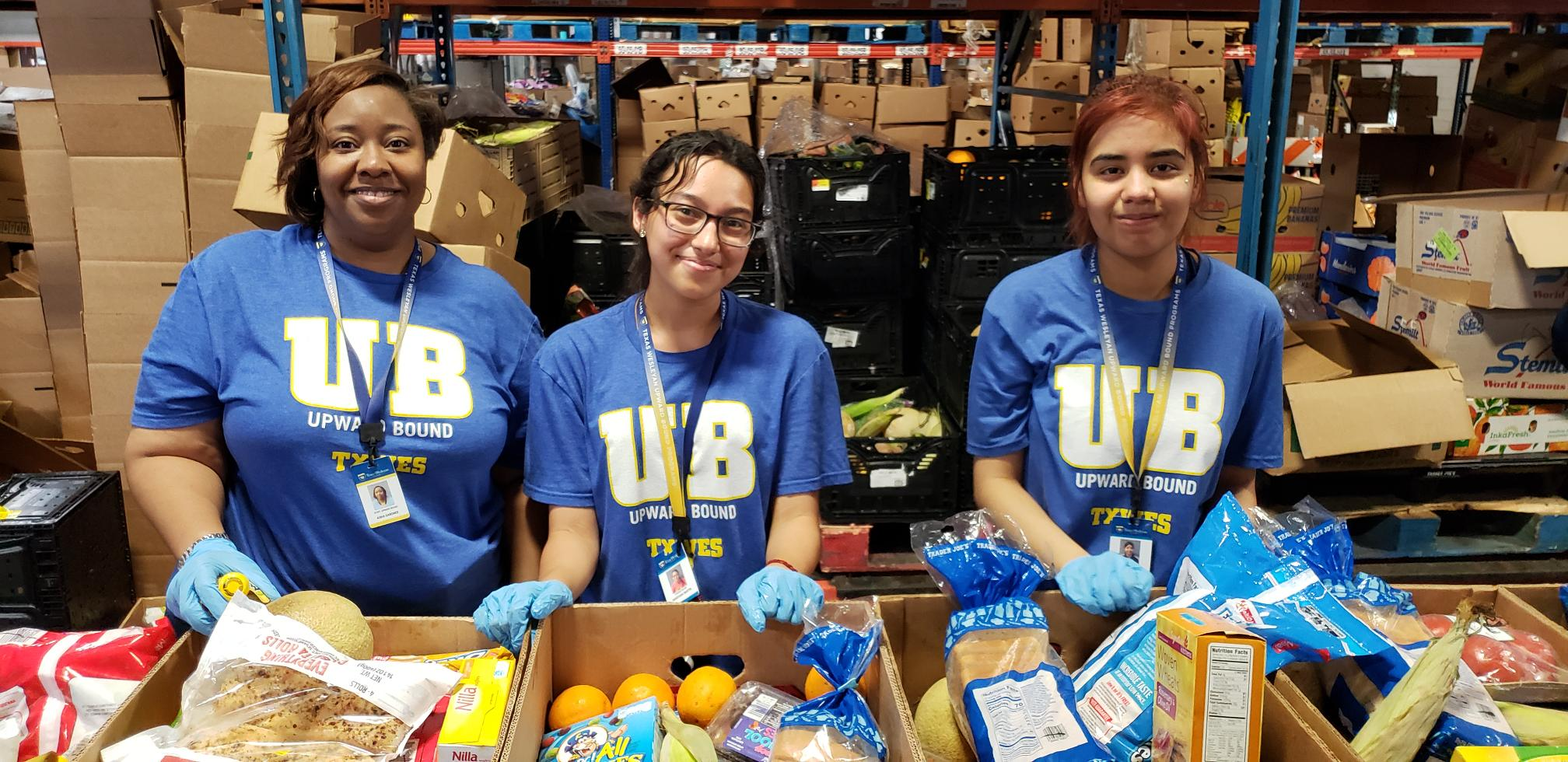 Volunteer Profile: Texas Wesleyan University's Upward Bound