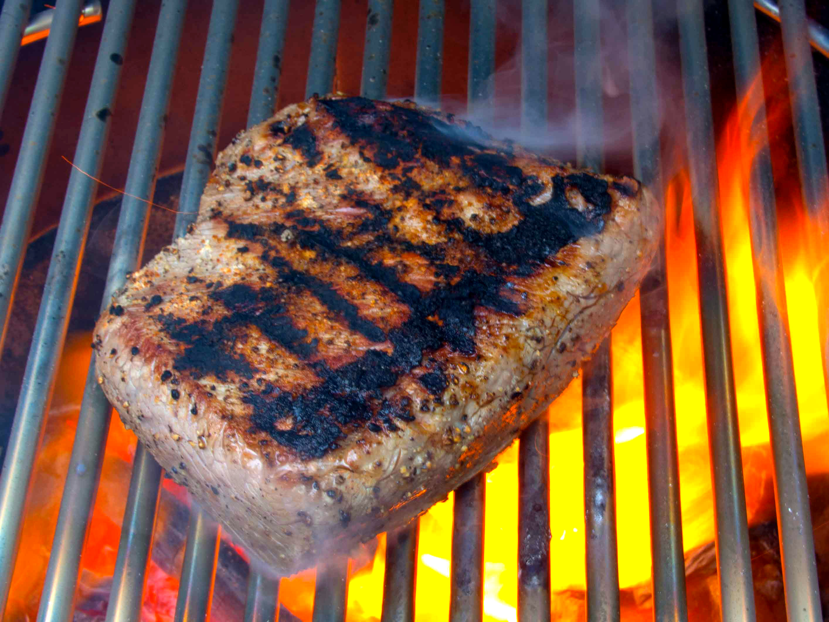 how to cut across the grain of a roast
