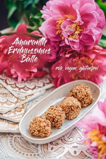 Verboten lecker: Amaranth-Erdnussmus-Bälle – vegan und glutenfrei!