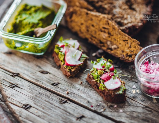 Chia-Buckwheat-Bread with Ginger and Turmeric Recipe