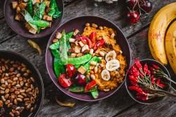 Suesskartoffel Bananencurry mit Erdnussbutter – einfach, schnell, vegan, glutenfrei