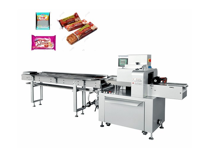 industrial pastry packaging machine horizontal chocolate pie pillow packing wrapping machine